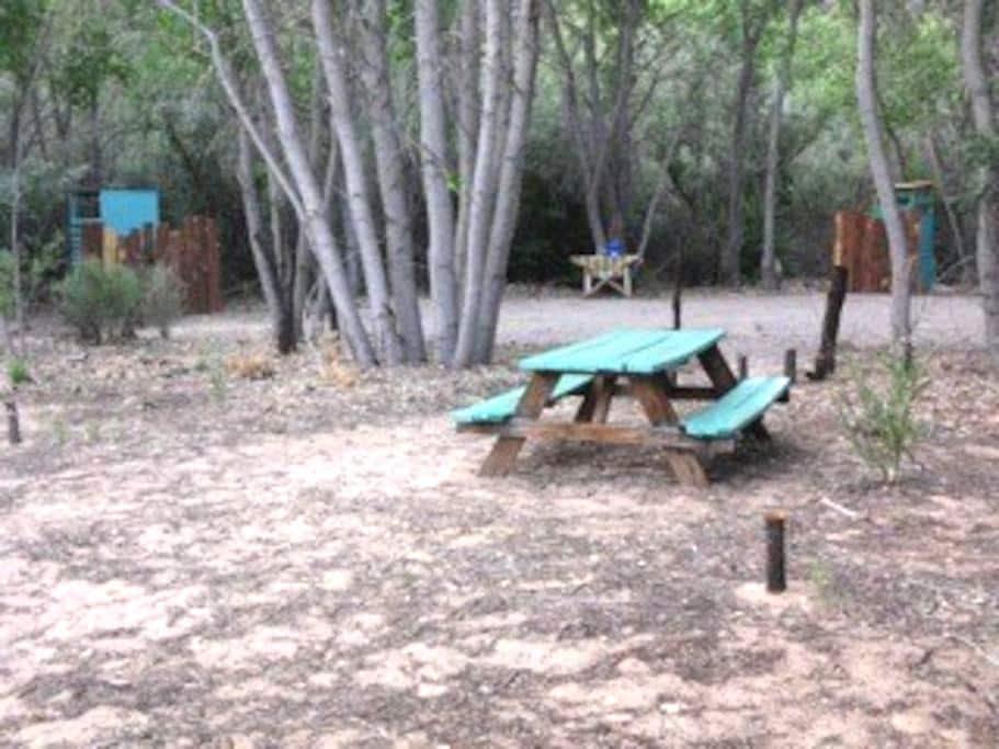 Ojo Cabin Camping - Ojo Caliente - Tent