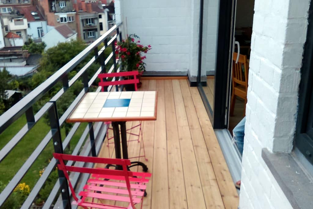 Cosy apartment with terrace - Etterbeek - Apartment