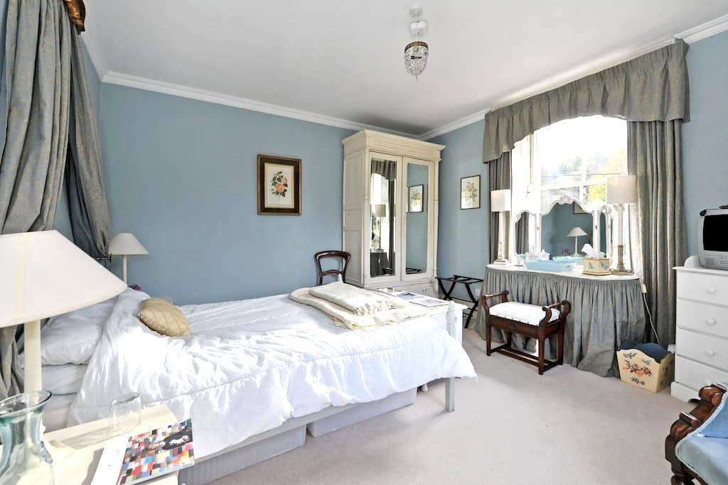 Vale House Blue Room - Chalford - Bed & Breakfast
