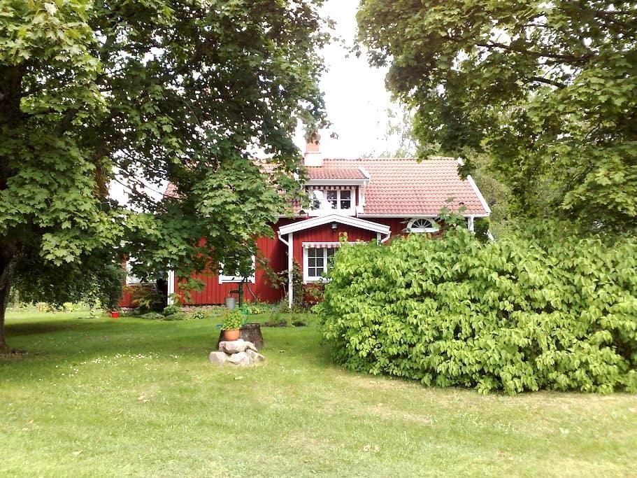 Scenic modern country house - Össjöhult - House