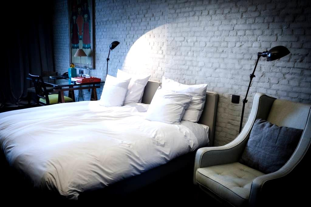 Design room in the city centre of Antwerp - Antwerpen - Boutique-hotell