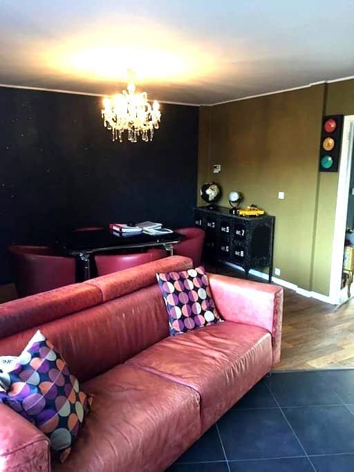 Maison vintage , chambre bouddha - Mons - Huis