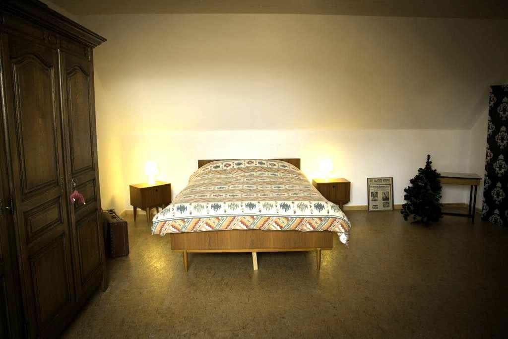 'Cosy' zolderkamer. - Oostkamp - House
