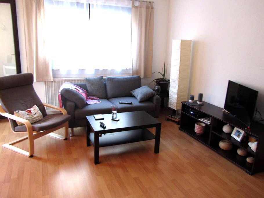 Gemütliche Wohnung. Neckarstadt Ost - Mannheim - Apartament