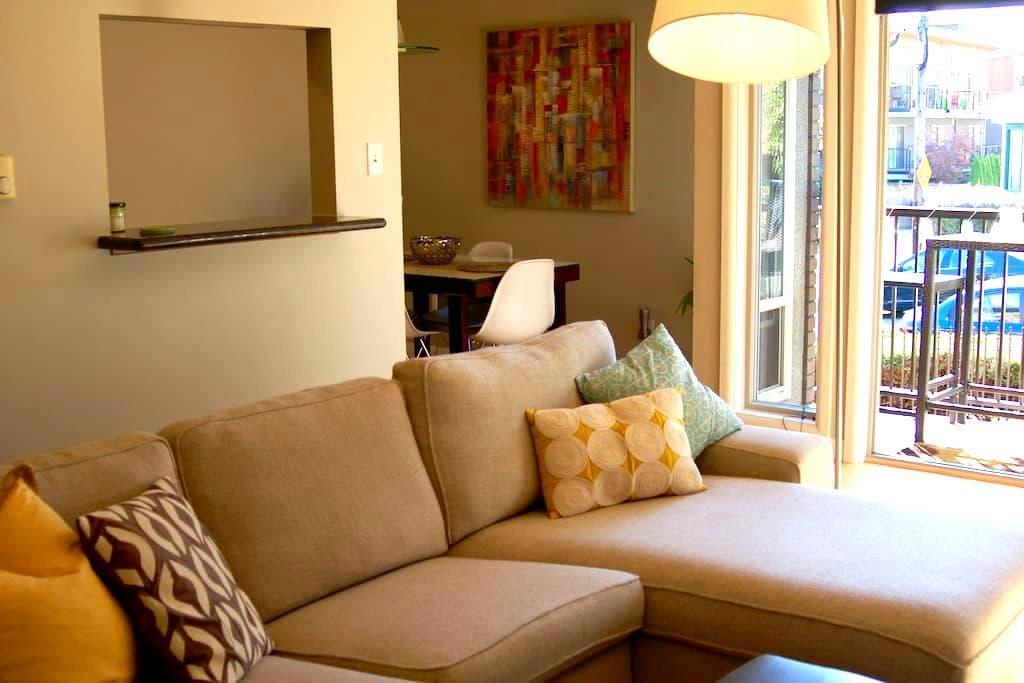 Modern Condo near Space Needle - Seattle - Apto. en complejo residencial