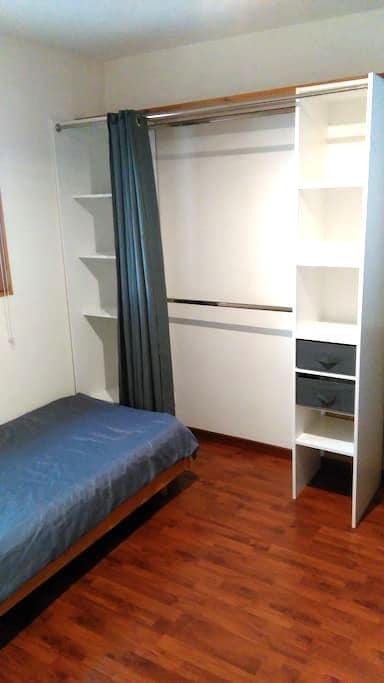 Chambre dans maison avec jardin - Trélazé - Rumah
