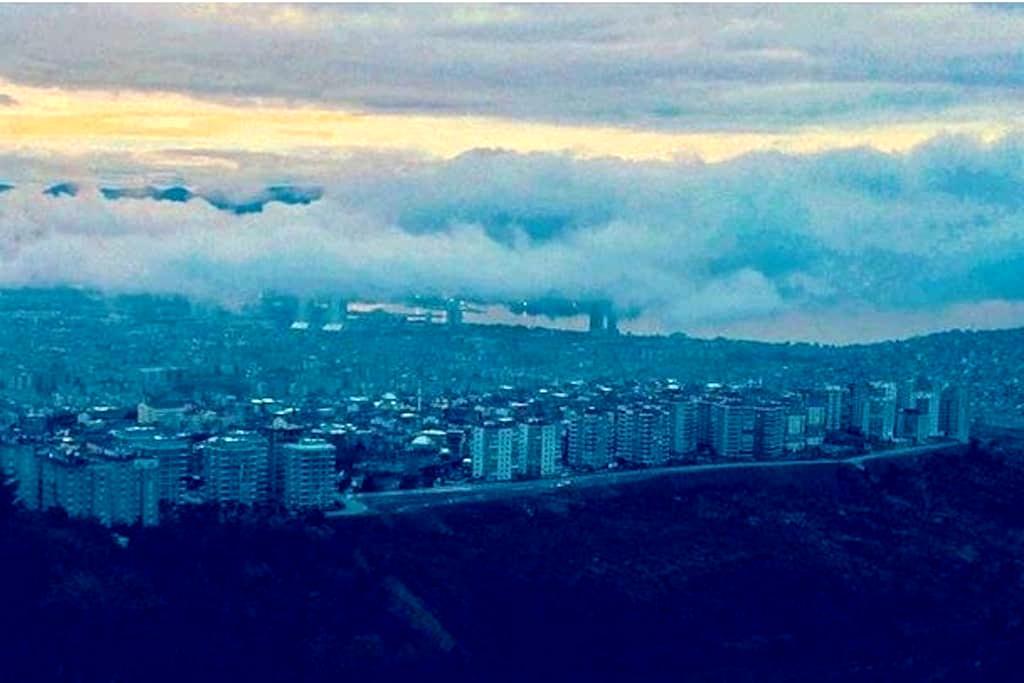 Deniz ve Körfez manzaralı ev - İzmir - Apartment
