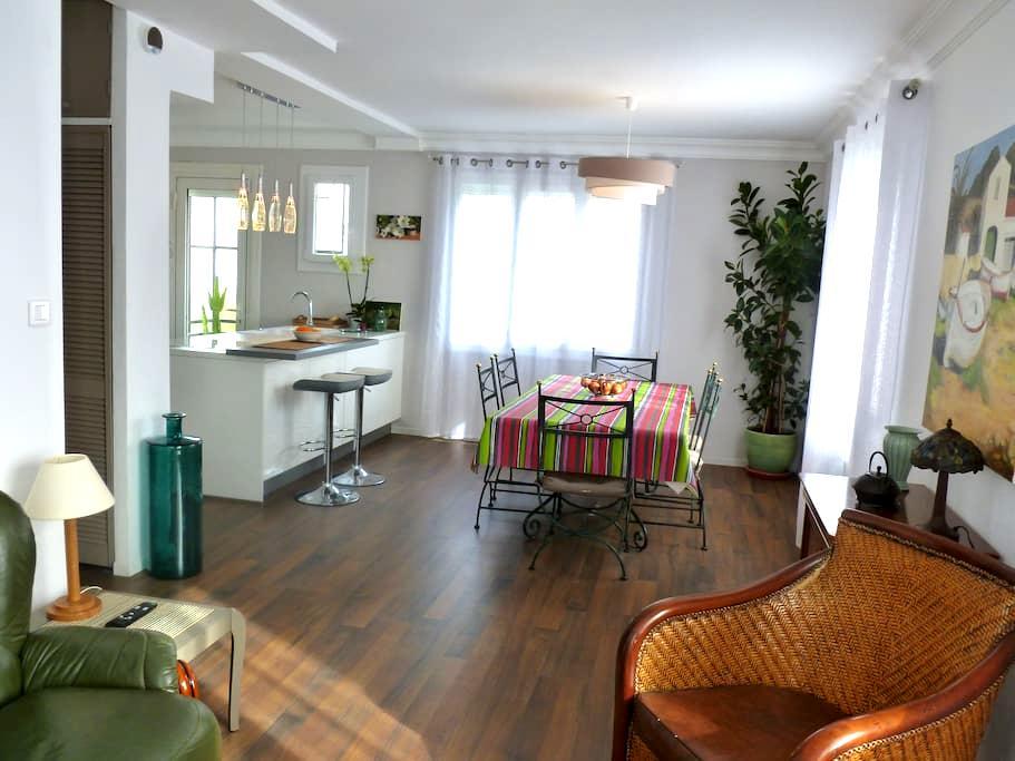 Appartement lumineux avec jardin à Perpignan-66 - Perpignan - Apartment