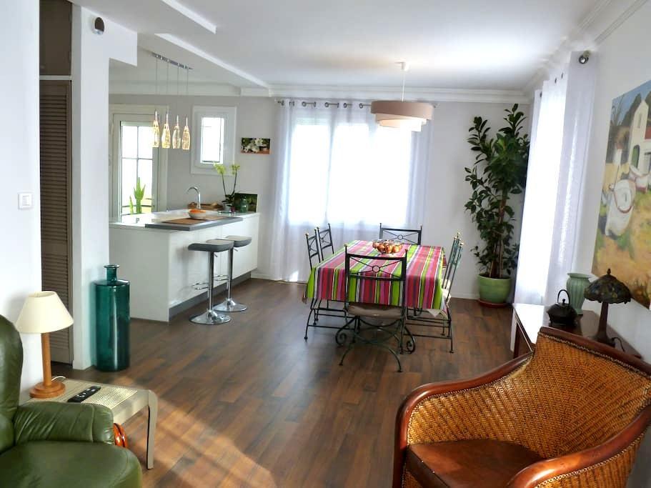 Appartement lumineux avec jardin à Perpignan-66 - Perpignan - Apartament