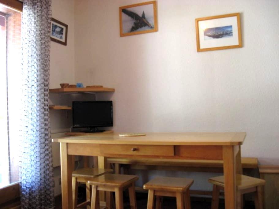 Logement à louer au pied du Mont Joly (Contamines) - Saint-Gervais-les-Bains - Appartement en résidence