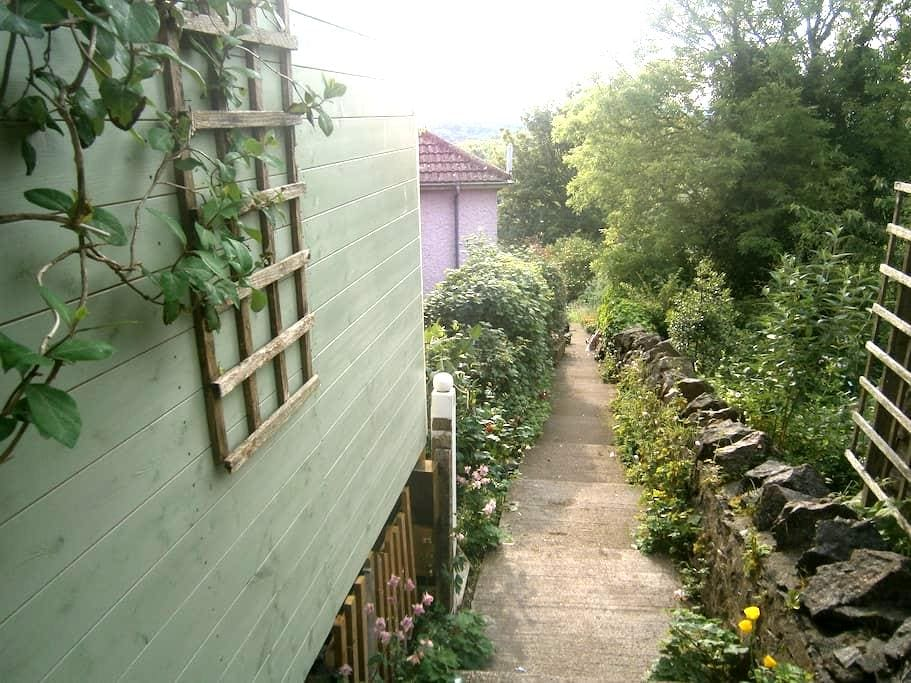 Double room with great views in hillside cottage - Worcestershire - Hus