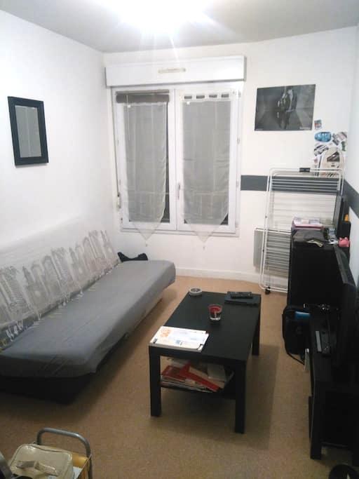 Studio de 20 m² Nantes Zola - Nantes - Appartement