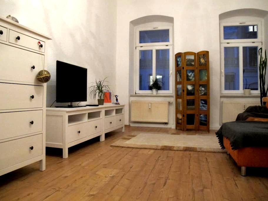 3-Zi-Whg, Jugendstilviertel, auch Monatsmiete - Chemnitz