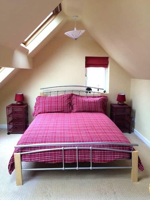 Double room on edge of Ilkley moor - Ilkley - House