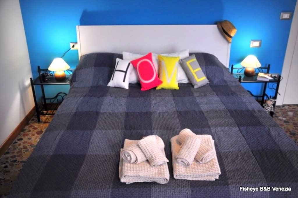 Blue Liberty-Private bathroom - Venezia - Bed & Breakfast