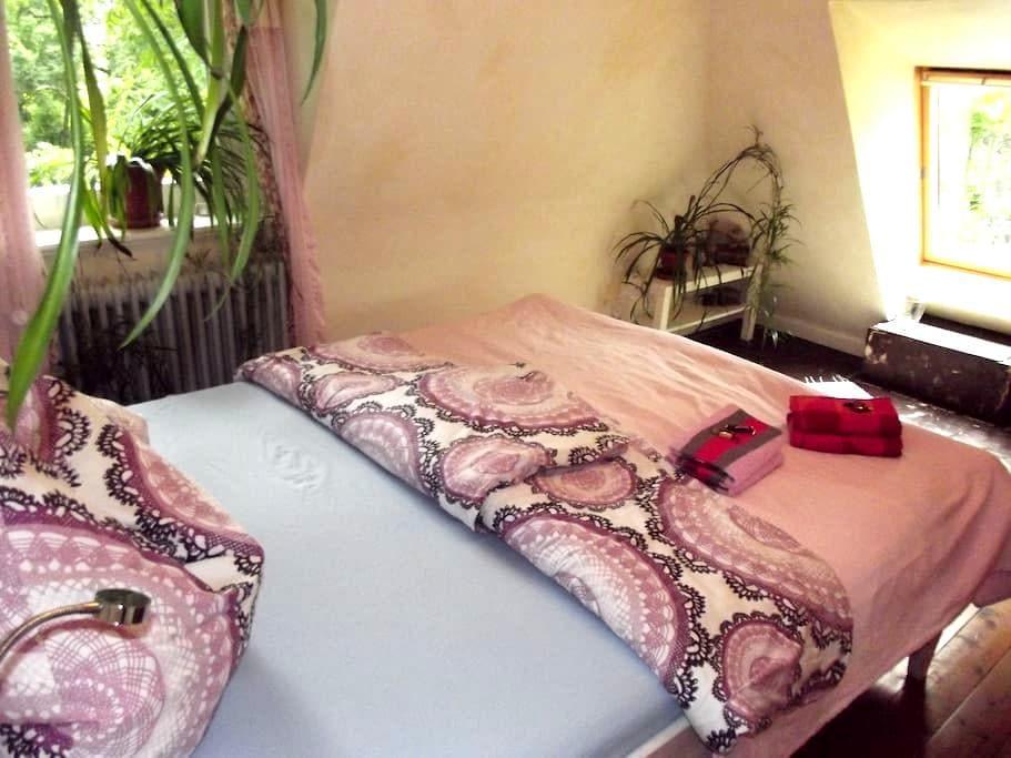 Erstes Zimmer im Haus mit See - Drage bei Itzehoe  - Hus