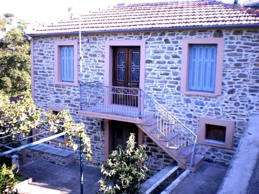 Traditional House at Lafkos, South Pelion - Lavkos