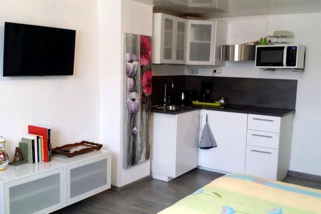 Joli studio neuf proche Strasbourg (11km du centre - Breuschwickersheim - House