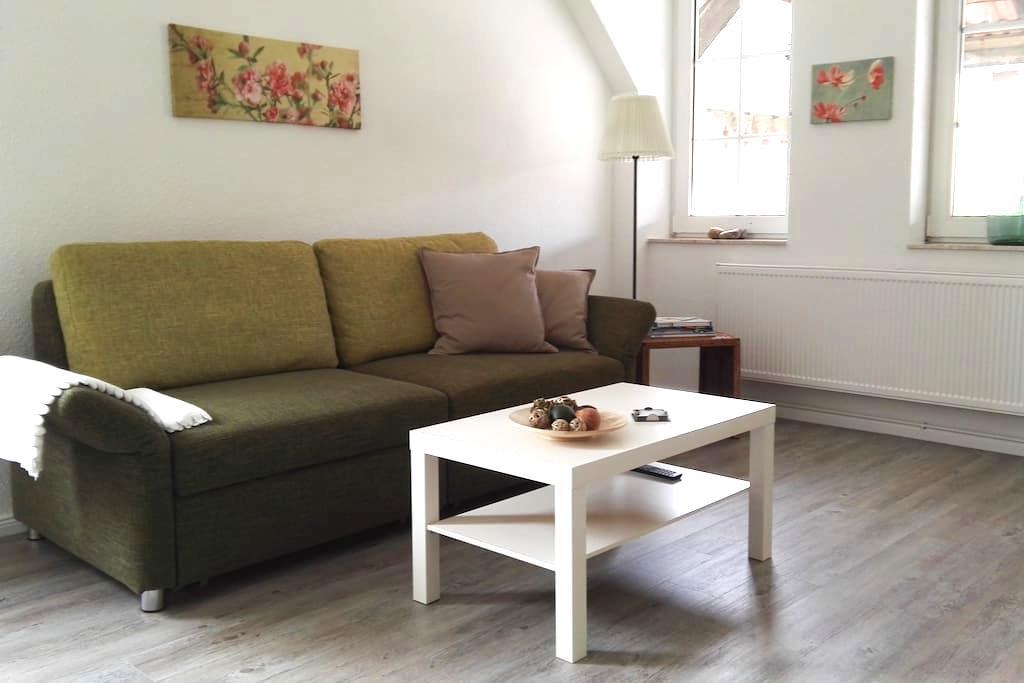 Wohlfühlwohnung auf dem Hof-Obernjesa - Rosdorf - Apartemen