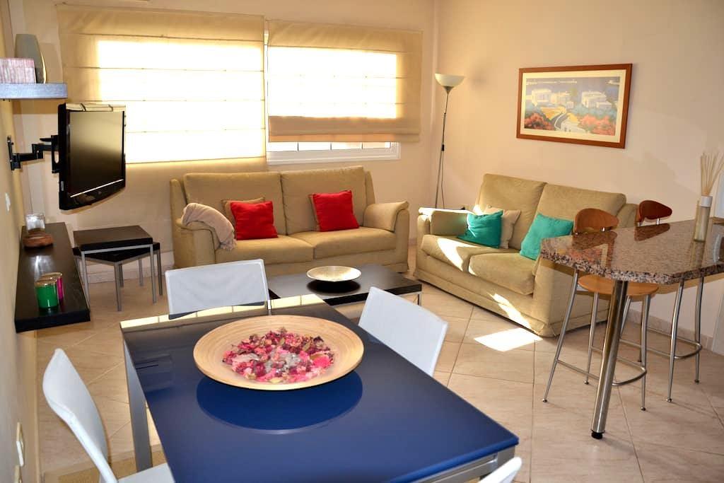 Acogedor, cerca del mar, wifi, A/C - Candelaria - Apartament