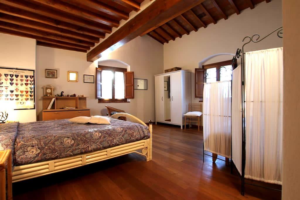 Una camera al B&B Podere Sanripoli - Montespertoli - Bed & Breakfast