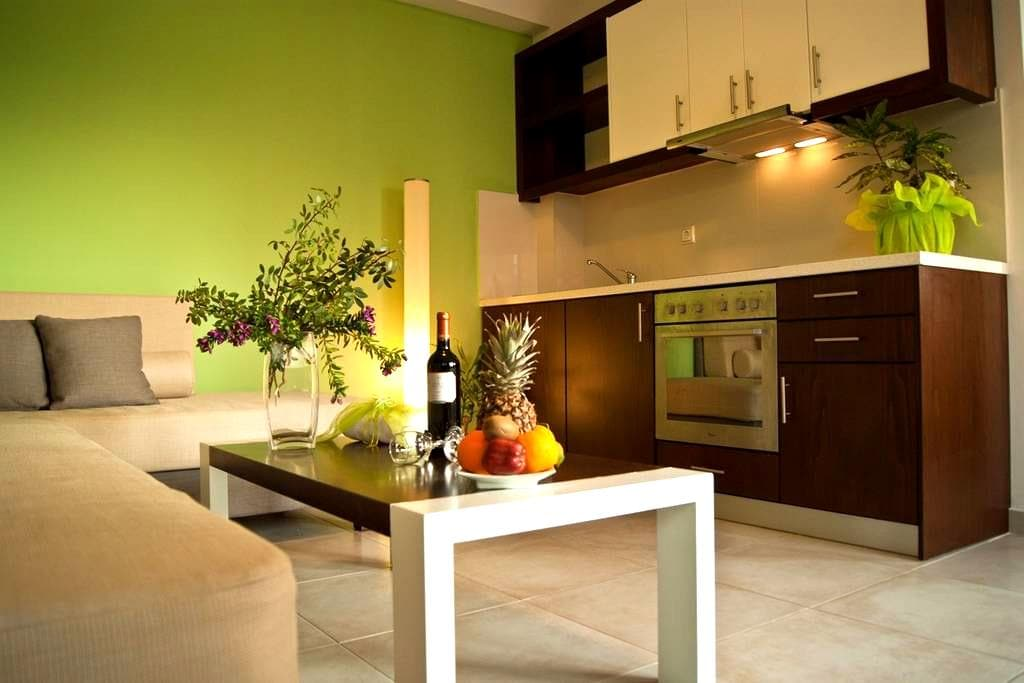 One bedroom suite - Esthisis suites - Platanias - 精品飯店