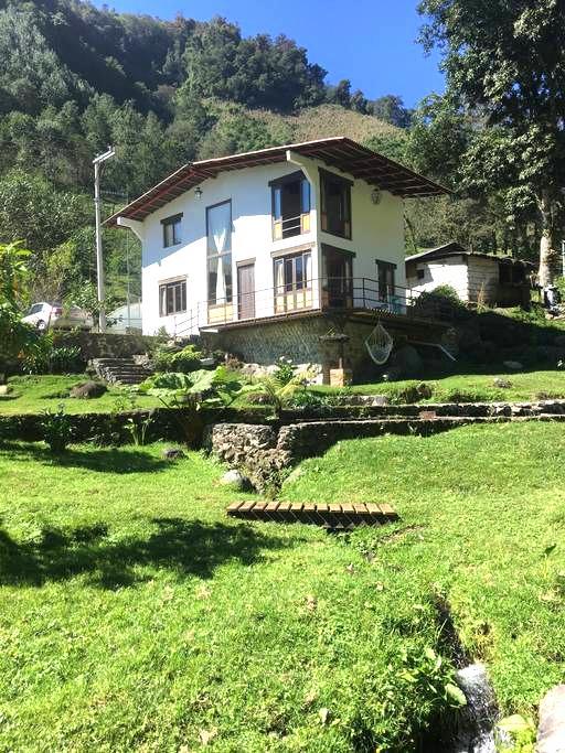 Xico ( rio cristalino al pie de tu ventana  ) - Xico - House