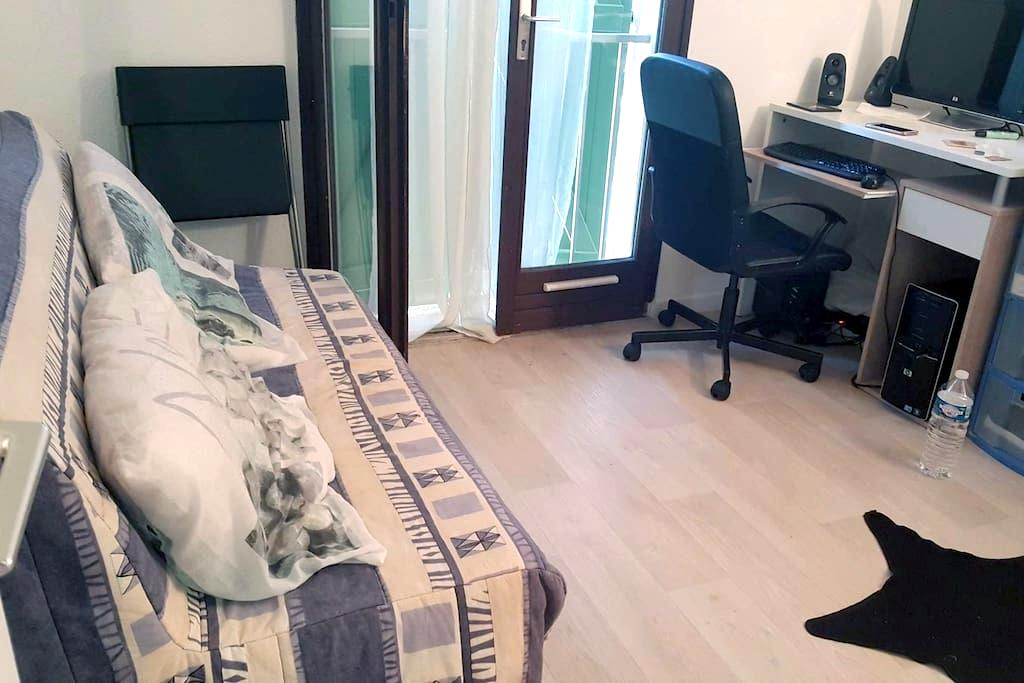 Chambre dans appartement au calme. - Saint-Raphaël - Appartamento