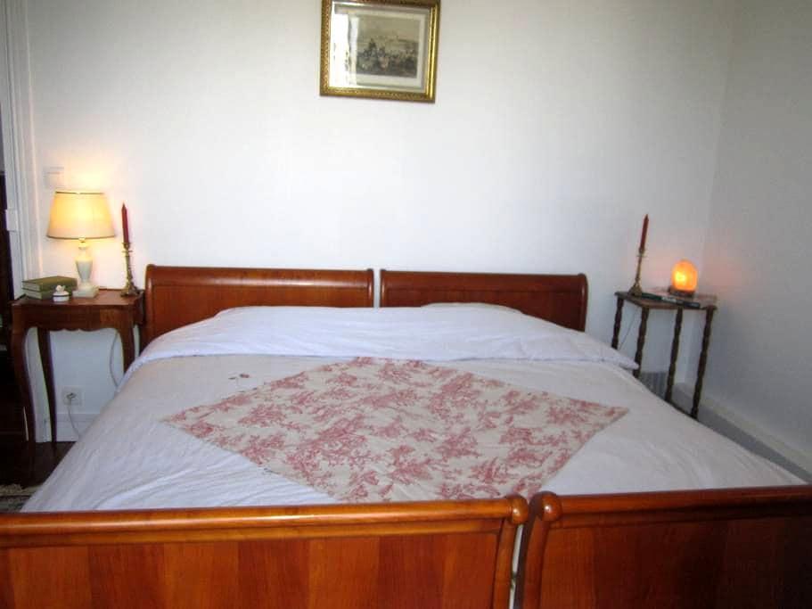 Beautiful quiet bedroom near Paris - La Garenne Colombes - Apartment