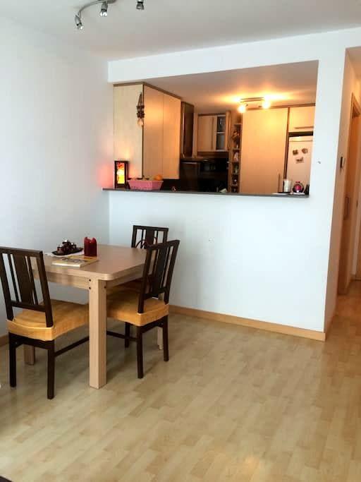 Habitación doble/ Double room - Girona - Lägenhet