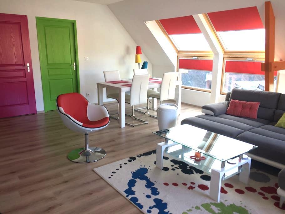 Original et agréable à vivre- vue/seine près Rouen - Duclair - Apartment