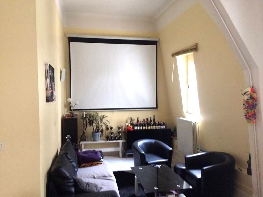 Chambre privée au calme en hyper-centre - Nancy - Apartament