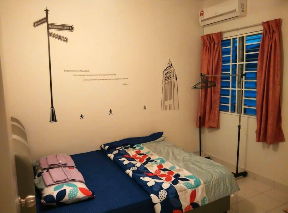 KLIA Englishman @ Mdm Tong - Nilai - House