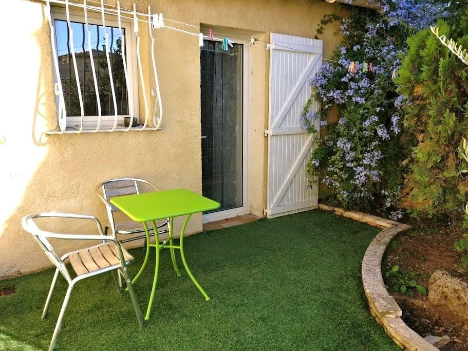 Studio in the garden - Aubagne - Appartement