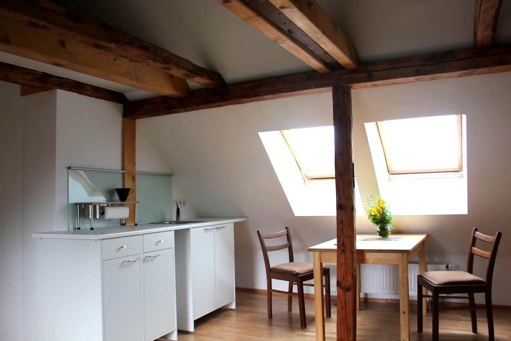 Schlafen unterm Dach - Studio mit Küchenzeile - Kassel - Apartemen
