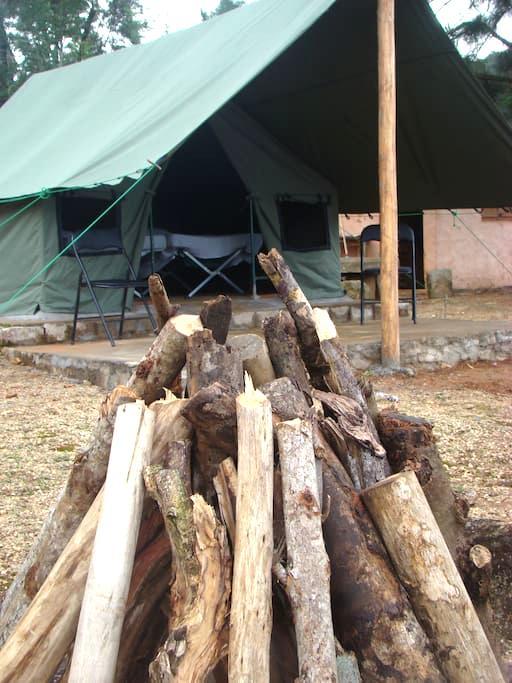 Venture Camps Sri Lanka - Kandy - Tent