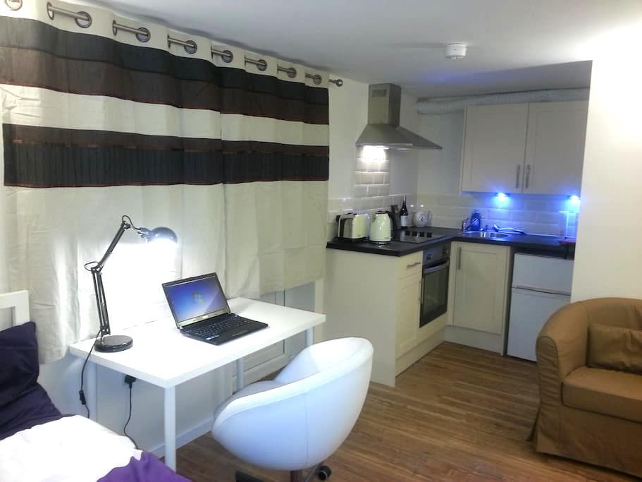 Stylish studio flat,central Bristol - Bristol - Huoneisto