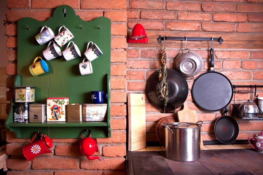 Agroturystyka w Starym Domu - pokój Chabrowy - Jemna - Casa