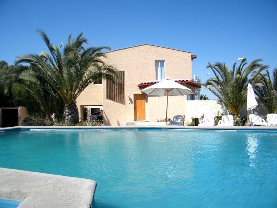 Apart Hotel Playa Blanca - Bahía Inglesa - กระท่อมบนภูเขา
