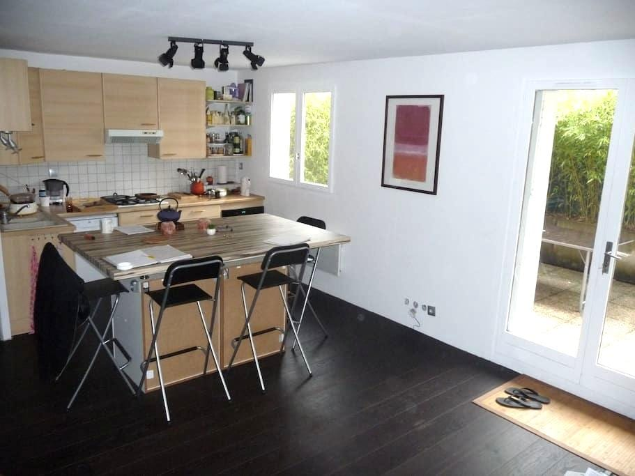 1 chambre dans Appartement avec terrasse à louer - Grenoble - Lägenhet