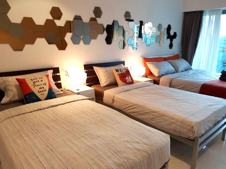 KLCC Summer Suites Family Studio #4 - Kuala Lumpur - Appartement en résidence