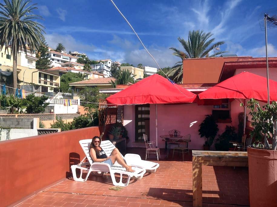 Las mejores vistas sobre Santa Cruz - Santa Cruz de Tenerife - Chatka w górach