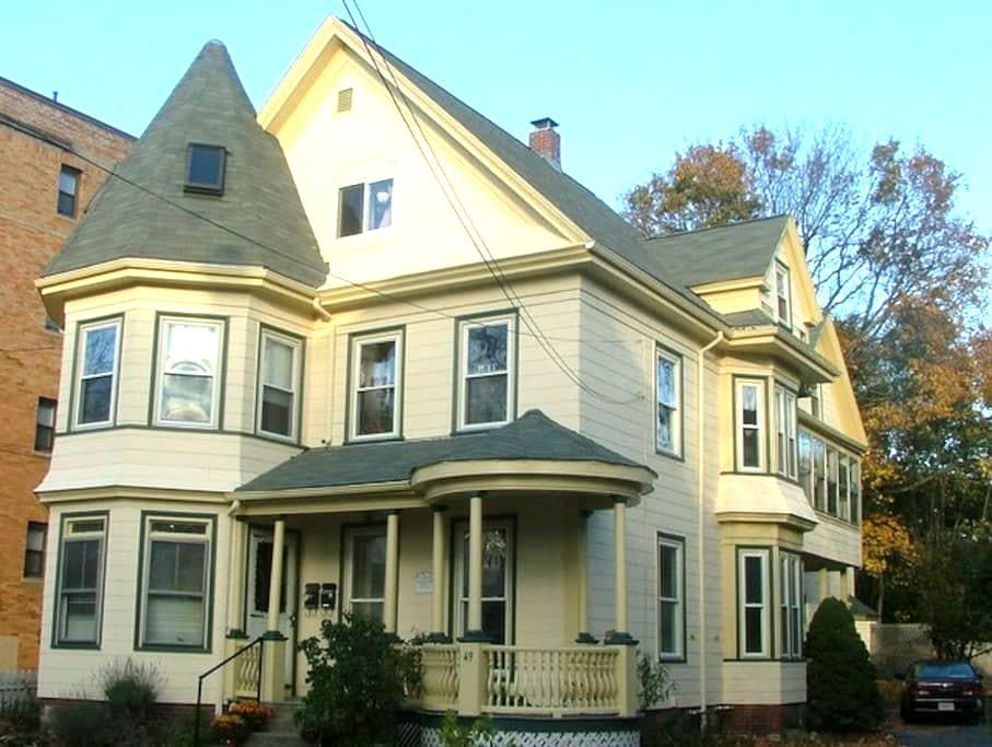 bedroom for rent in historic home - Malden