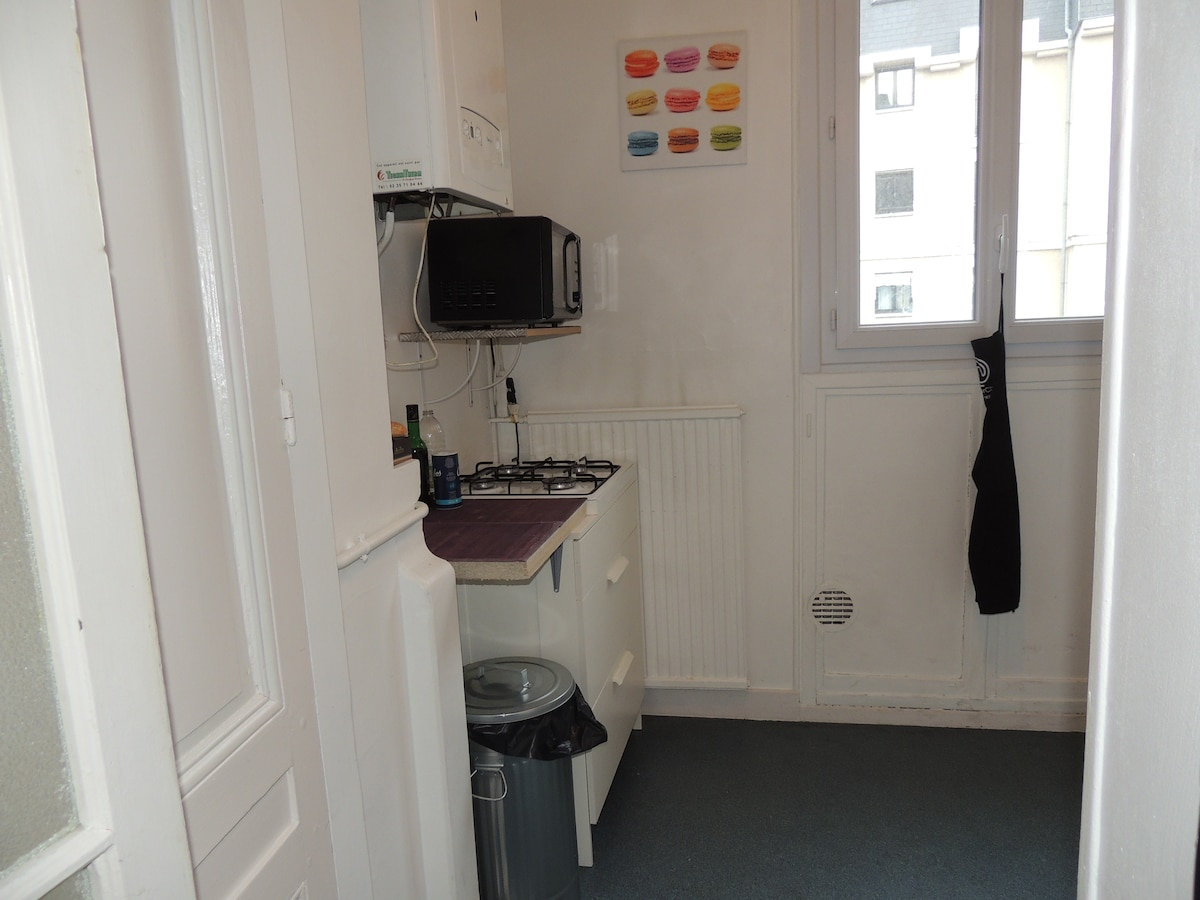 Appartement for 4 at Rouen center
