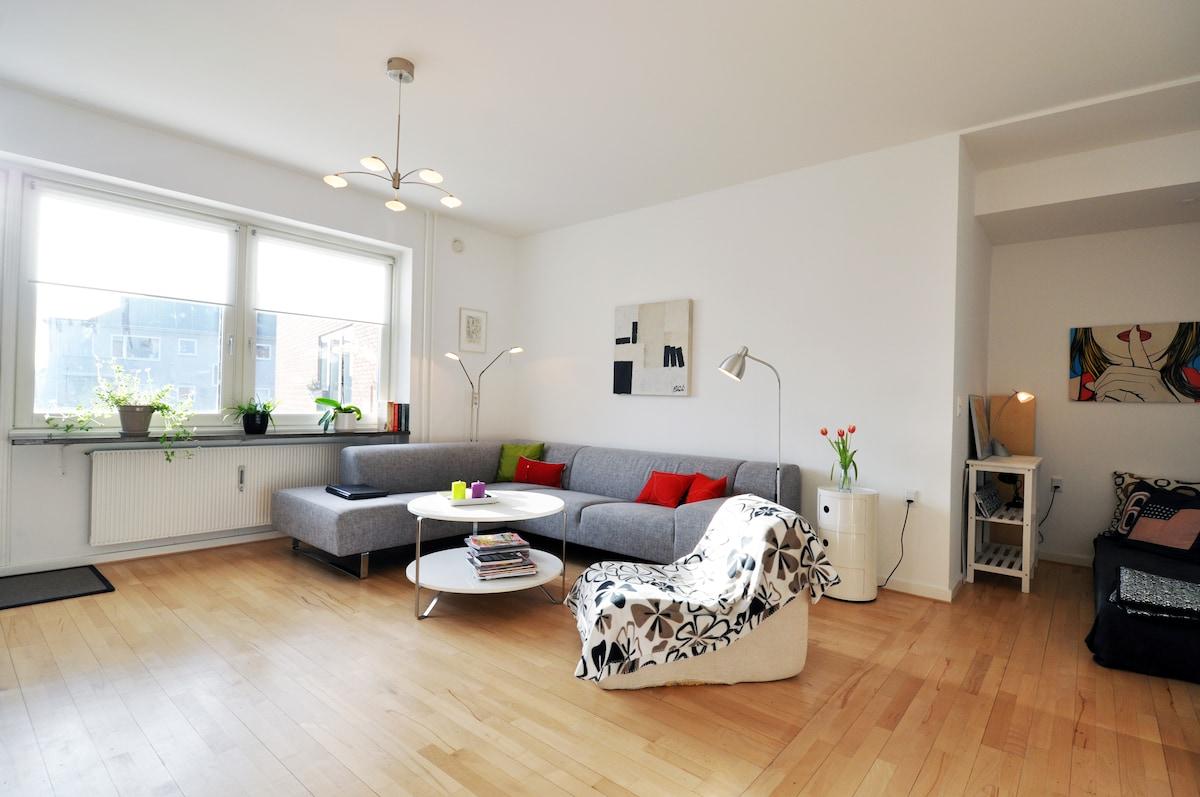 Family-friendly flat with balcony