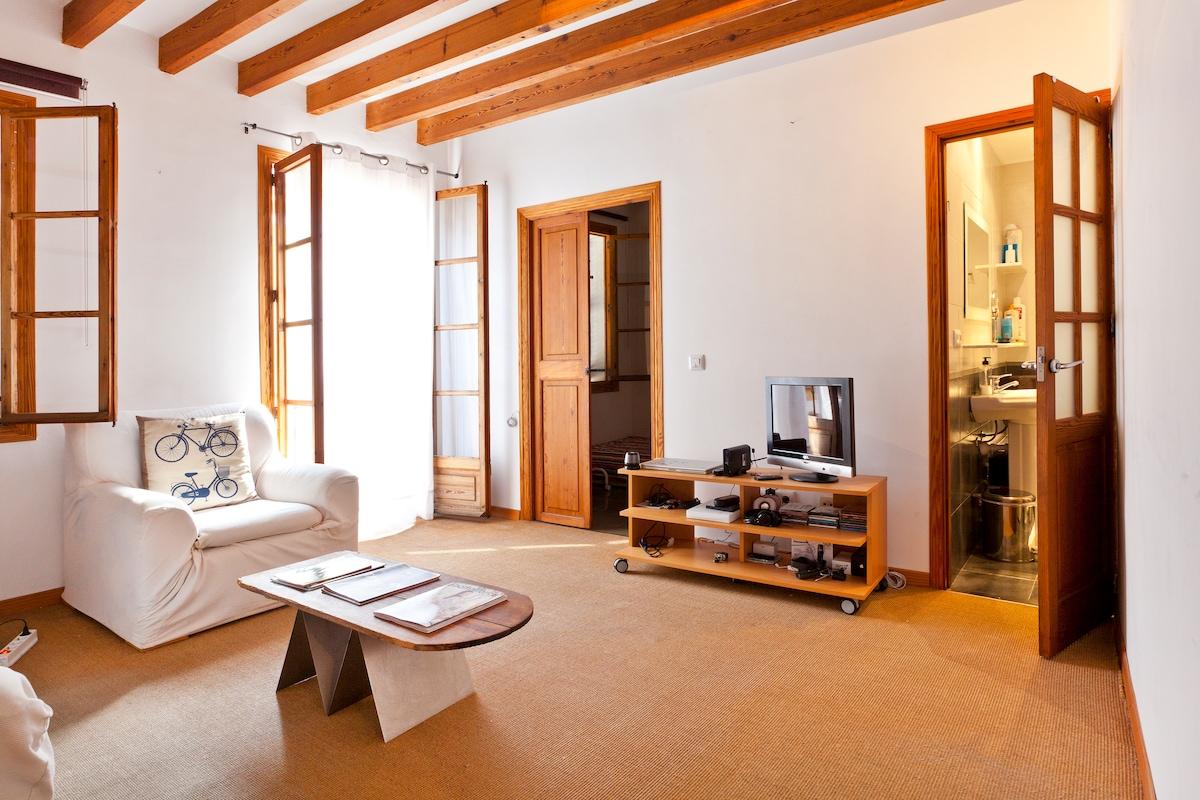Double bedroom in Santa Eulalia.