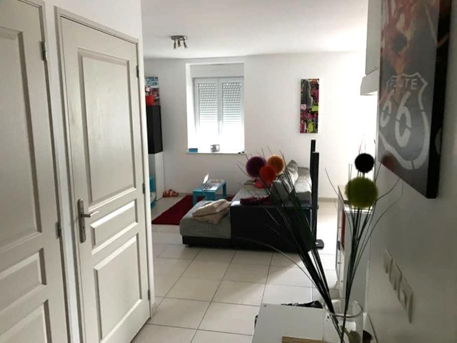 Chambre privé dans Village. - Saint-Alban-les-Eaux - Apartament
