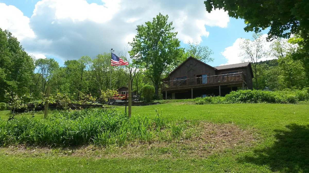 Naples Mountain View Cabin Reduced!   Cabins For Rent In Naples, New York,  United States
