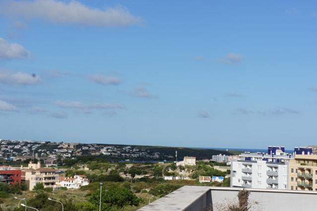 Hermosas vistas del Puerto de Mahón desde la Terraza privada Mayor.