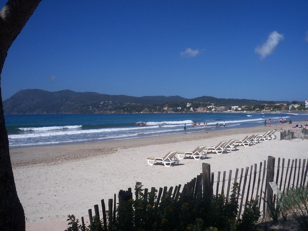 French Riviera Plage à 200 m STUDIO